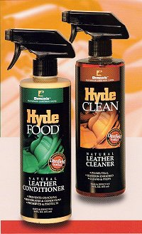 hyde food and hyde clean spray bottles
