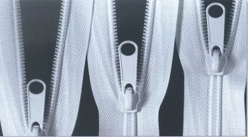coil chain zipper
